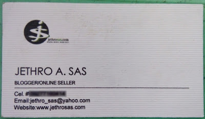 My 1st Business Card