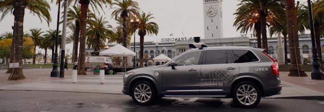 Carros autônomos da Uber estão com problemas para andar sozinhos  Matéria completa: https://canaltech.com.br/noticia/uber/carros-autonomos-da-uber-estao-com-problemas-para-andar-sozinhos-90782/ O conteúdo do Canaltech é protegido sob a licença Creative Commons (CC BY-NC-ND). Você pode reproduzi-lo, desde que insira créditos COM O LINK para o conteúdo original e não faça uso comercial de nossa produção.
