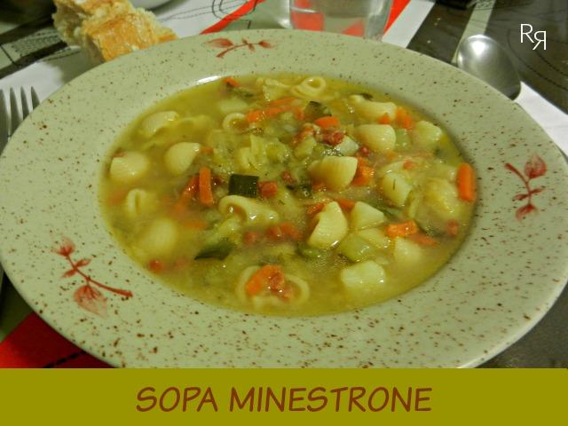 """""""Sopa minestrone"""""""