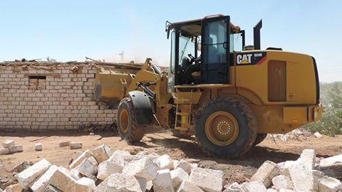 إزالة 105 حالة تعدٍ علي الاراضي الزراعية خلال أسبوع بسوهاج