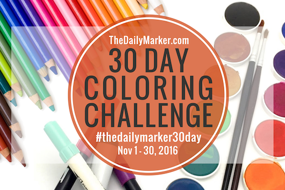 Daily MArker Colouring challenge