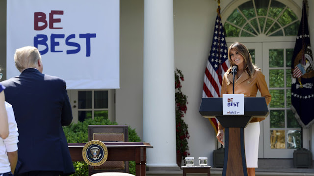 In Traditional First-Lady Style, Melania Trump Unveils 'Be Best' Initiative