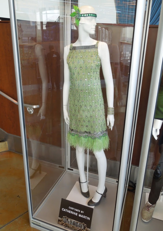 Great Gatsby green party dress