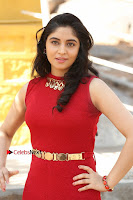 Telugu Actress Zahida Sam Latest Pos in Red Gown at RF Films New Movie Opening  0027.JPG
