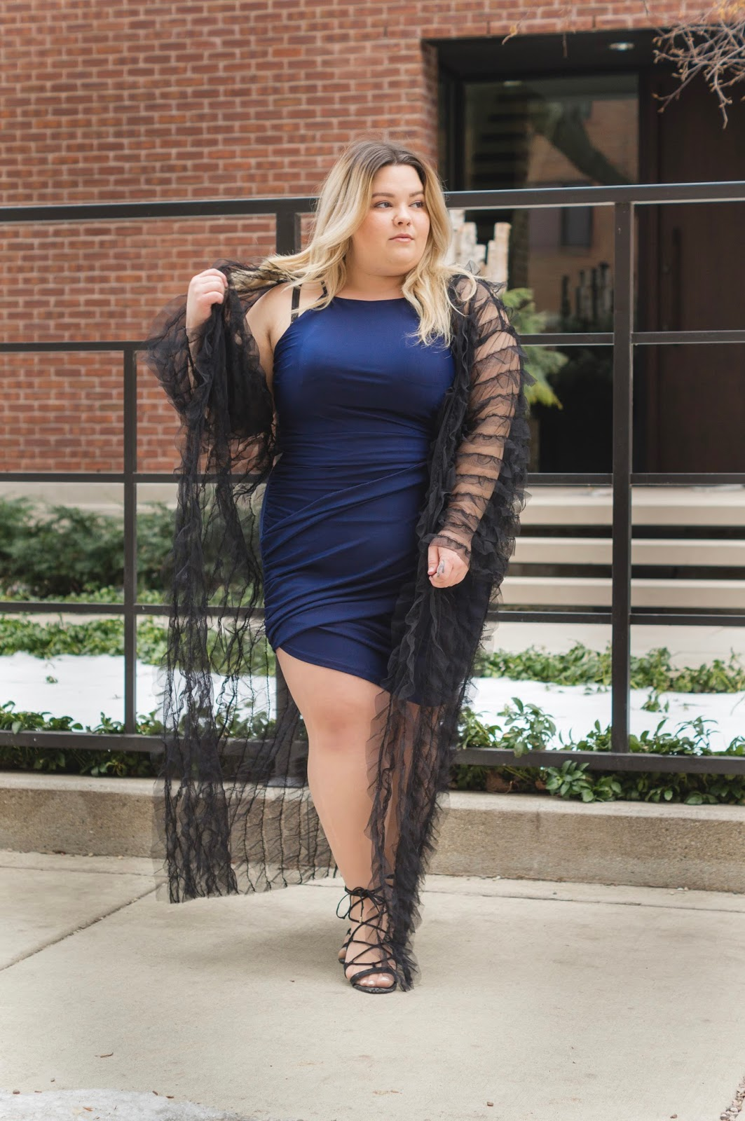plus size body con, natalie Craig, natalie in the city, Chicago plus size model, Chicago plus size fashion blogger, midwest blogger, fashion nova curve, fashion nova, avant garde plus size fashion, affordable plus size clothing, plus size fashion for women, embrace your curves, skorch magazine, plus model magazine