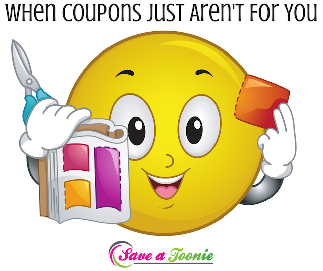 Saving Money Without Coupons - When Coupons Aren't For You!