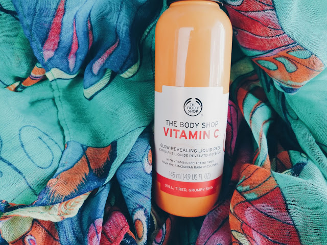 Vitamin C Glow Revealing Liquid Peel from The Body Shop