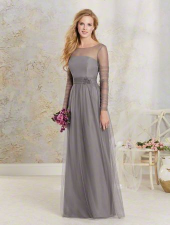 Bridesmaid Dresses With Sleeves