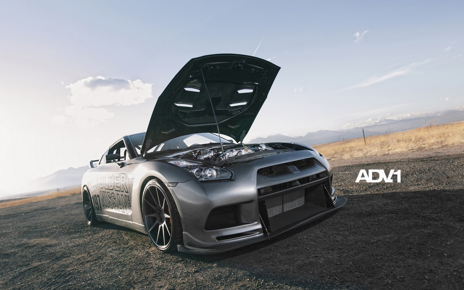 Nissan GTR Engine tuning by ADV1 HD Wallpaper ~ The ...