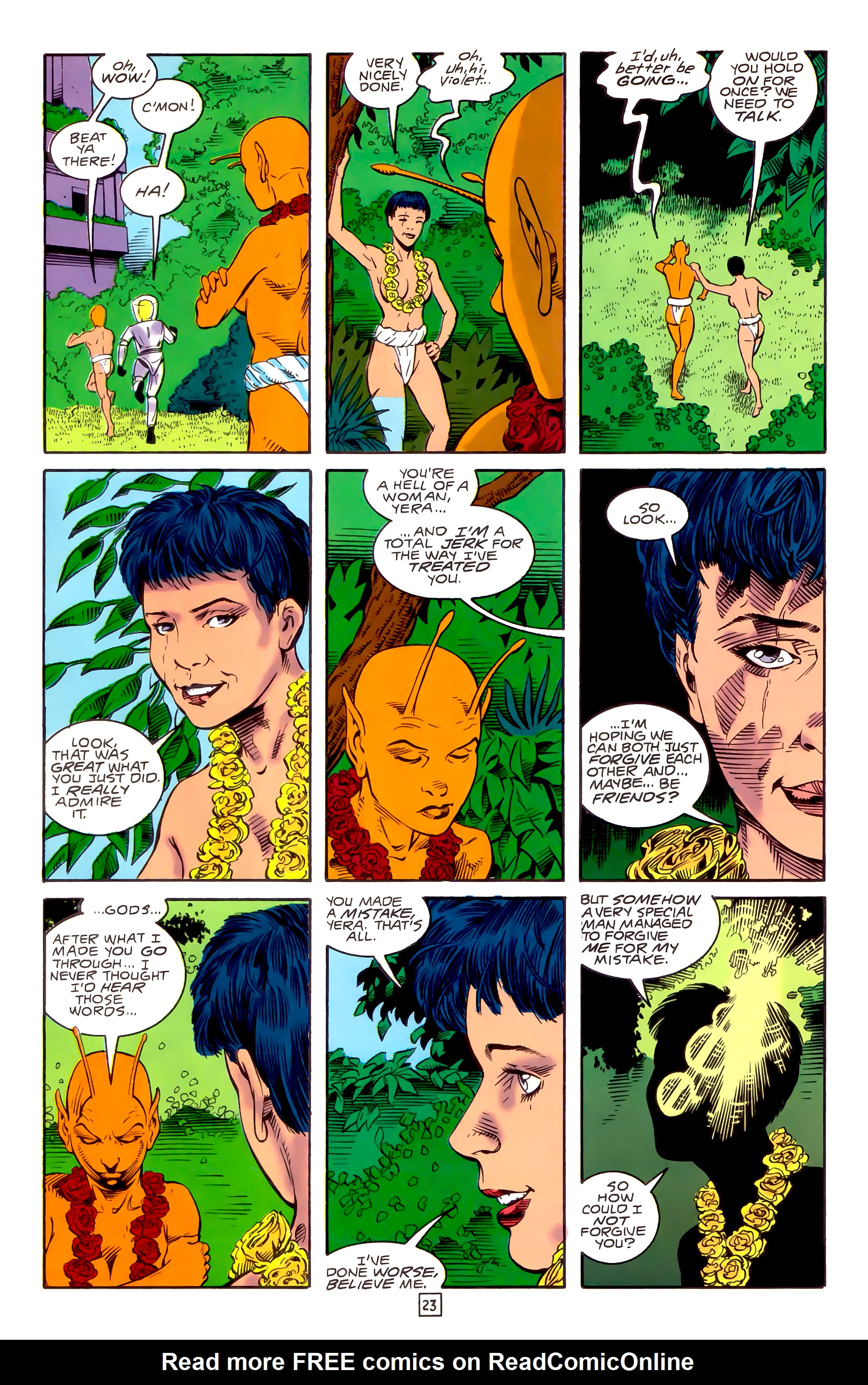 Legion of Super-Heroes (1989) _Annual_3 Page 50