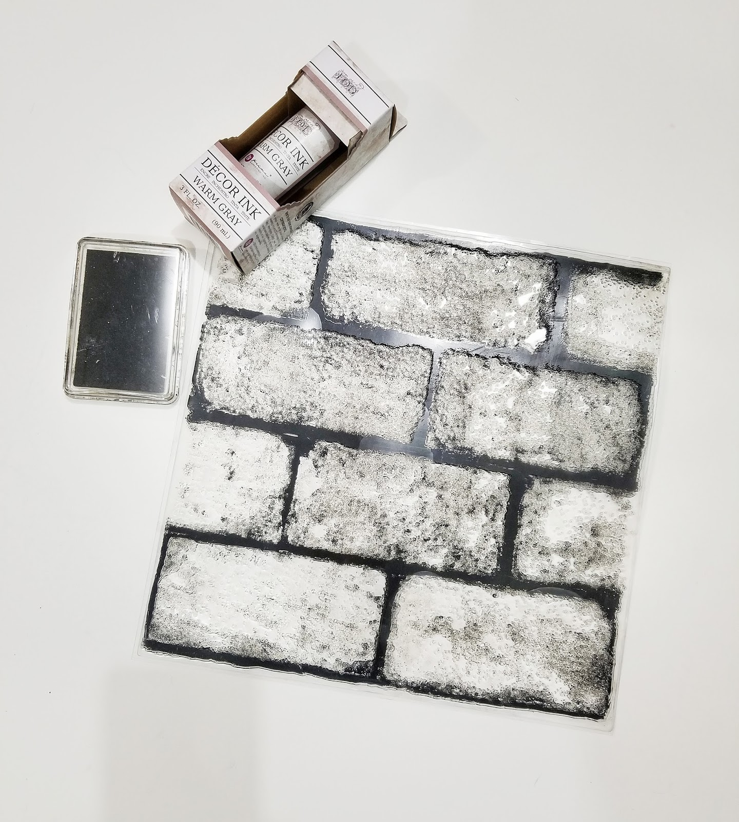 brick wall stamping in under 30 minutes