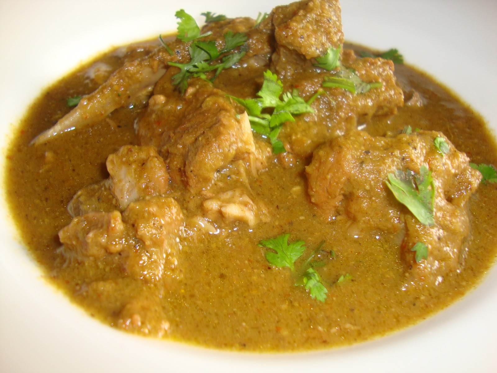 Cooking Delights: Mutton mughlai masala