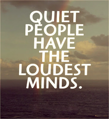 quiet people quotes