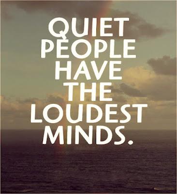 quiet people quotes