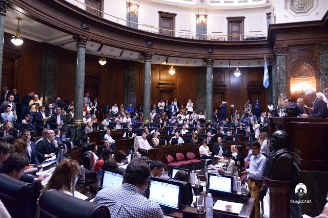 La Legislatura declaró Visitante Ilustre de la Ciudad de Buenos Aires a Mario Abdo Benítez, Presidente de la República del Paraguay