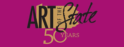 Logo for 50th Art of the State exhibit