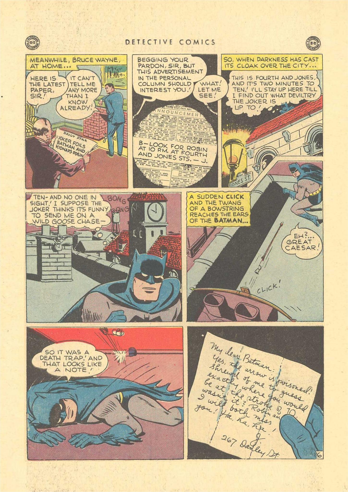 Read online Detective Comics (1937) comic -  Issue #109 - 8