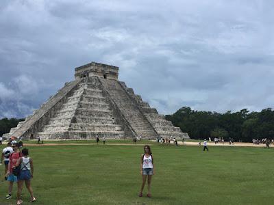 Yo en Chiché Itzá