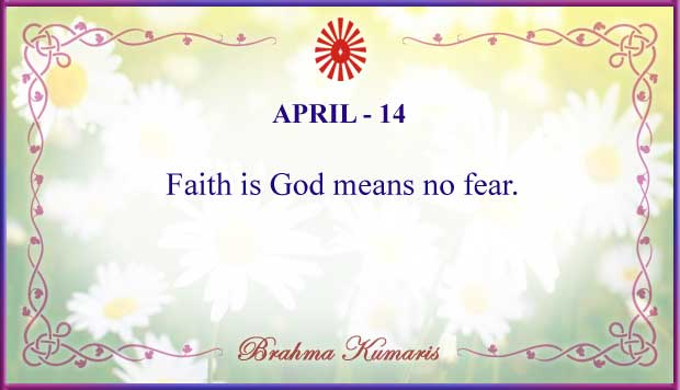 Thought For The Day April 14