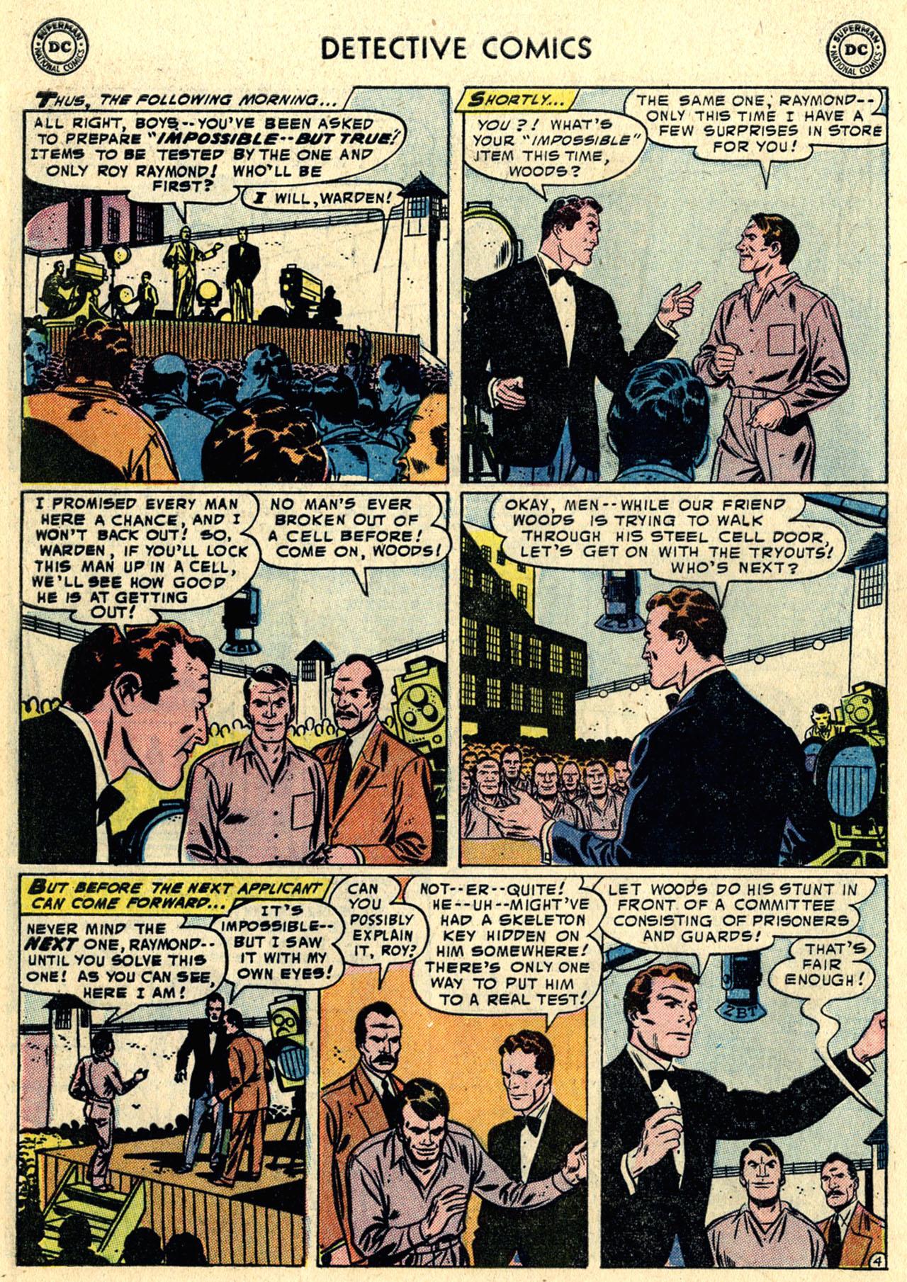 Read online Detective Comics (1937) comic -  Issue #216 - 30