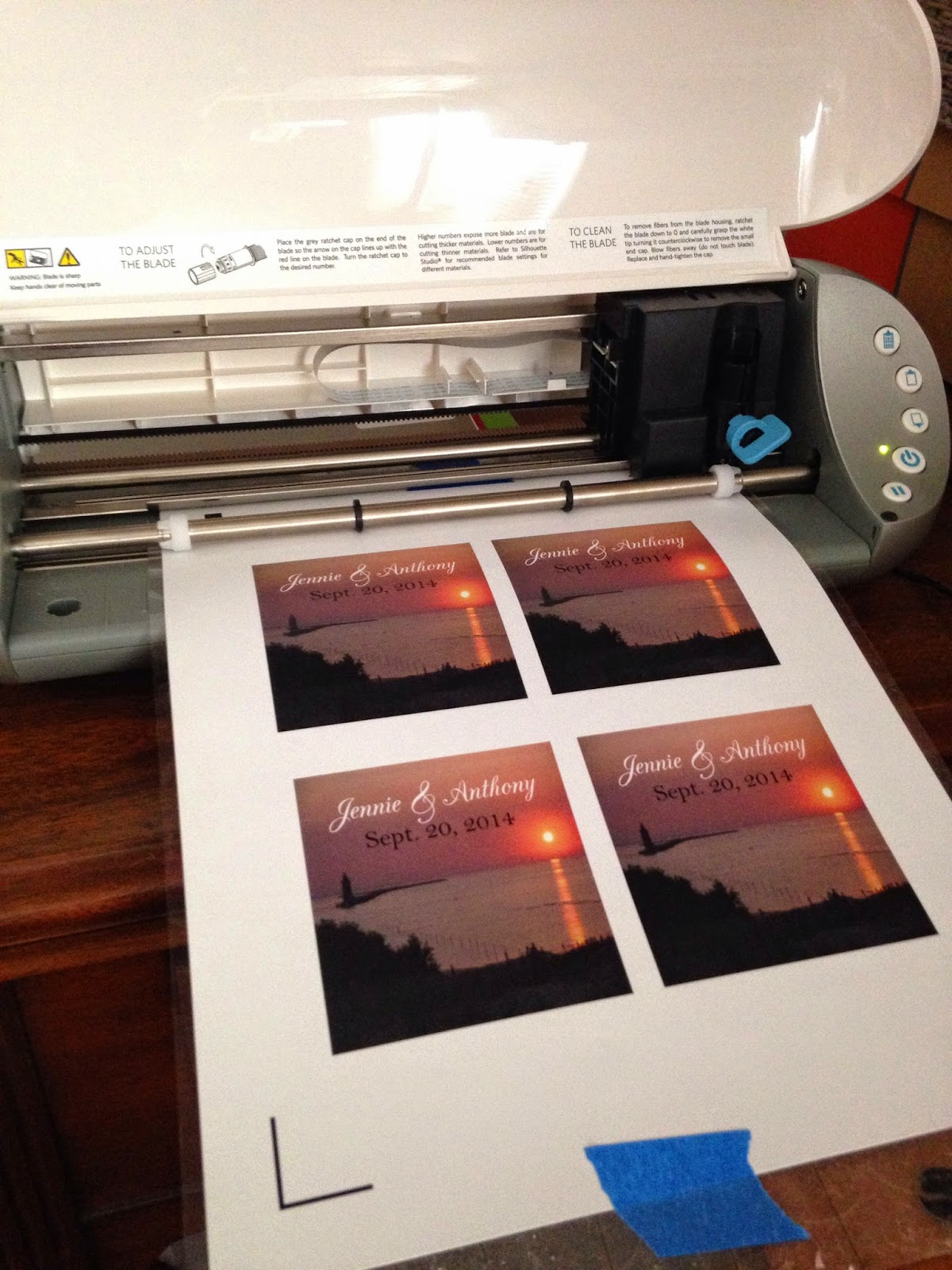 Silhouette, print and cut, Silhouette tutorial, stickers, remote printing