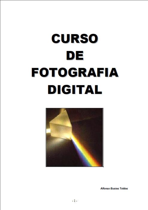 Portada libro: Curso de fotografia digital