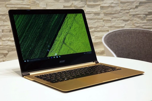 Acer Swift 7, Laptop tertipis di dunia