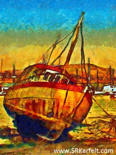 living on a houseboat, travel, writing, S.R. Karfelt