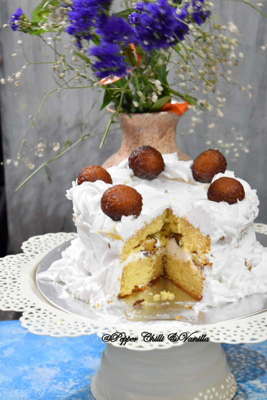gulab jamun cake from scratch