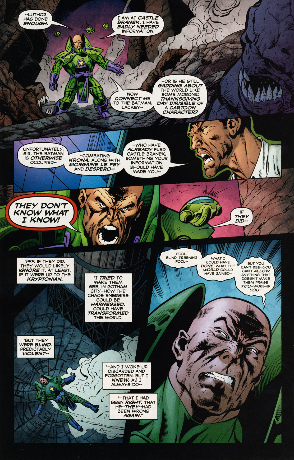Read online Trinity (2008) comic -  Issue #47 - 21