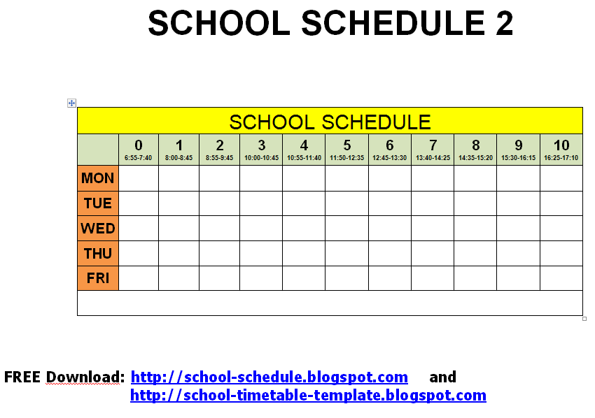 college school schedule template - spice jar labels and templates to print free school