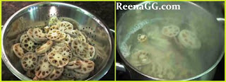 Lotus Root Fry Recipe step 1