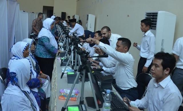 Rekam Biometrik Untuk Jamaah Umroh, Ini Kata Kemenag