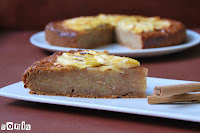 Tarta de manzana especiada