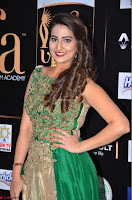 Manjusha in Beautiful Sleeveless Green Anarkali dress at IIFA Utsavam Awards 29.JPG
