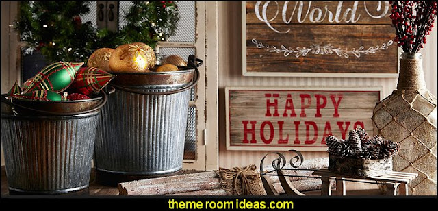 rustic Christmas decorating rustic Christmas decorations