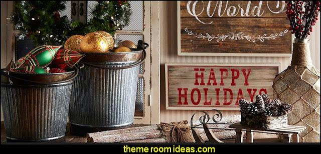 rustic Christmas decorating rustic Christmas decorations Rustic Christmas decorating ideas - rustic Christmas decorations - Vintage - Rustic - Country style Christmas decorating - rustic Christmas decor - Christmas stockings