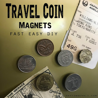 Travel Coin Magnets