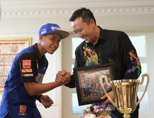 Menpora Berharap Galang Hendra akan Menjadi Rossi-nya Indonesia, Semoga!
