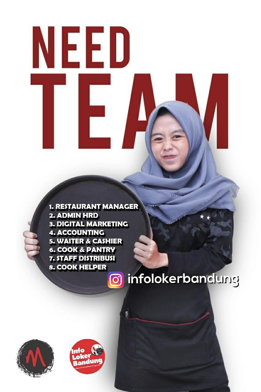Lowongan Kerja Oseng Mercon Bandung Februari 2019
