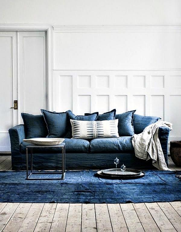 Como combinar los almohadones del sofá