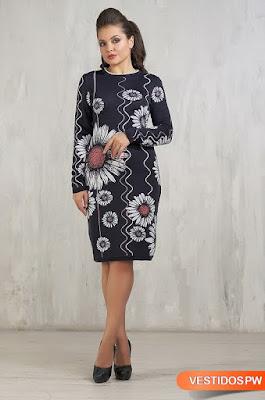 Vestidos Tejidos para Dama