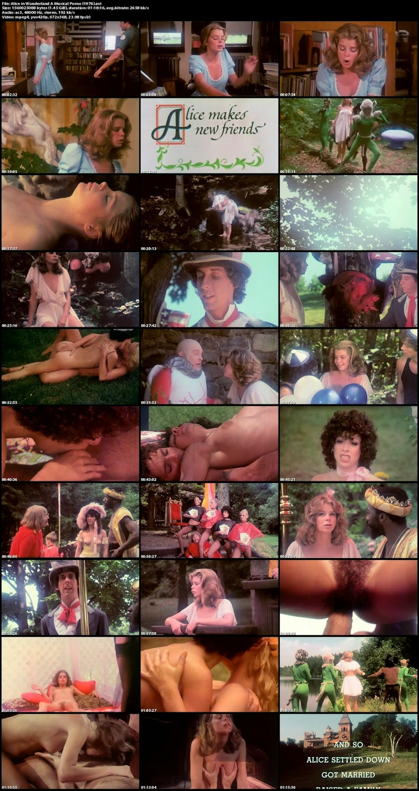 Alice In Wonderland A Musical Porno 1976 alice in wonderland (1976) - bud townsend - free porn