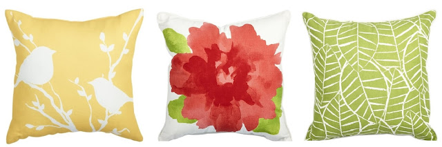 This week I'm obsessed with... Lowe's patio throw pillows!