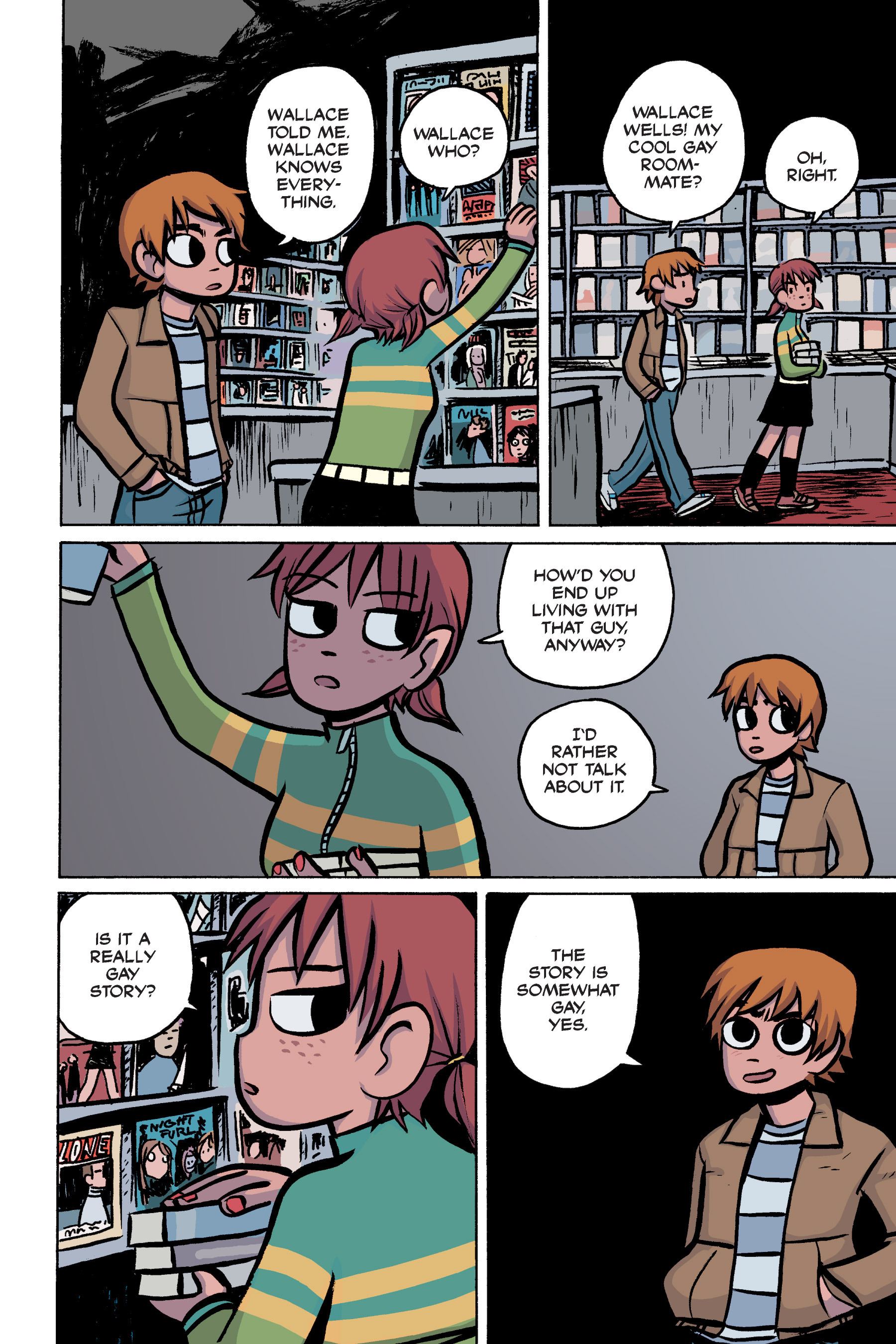 Read online Scott Pilgrim comic -  Issue #2 - 68