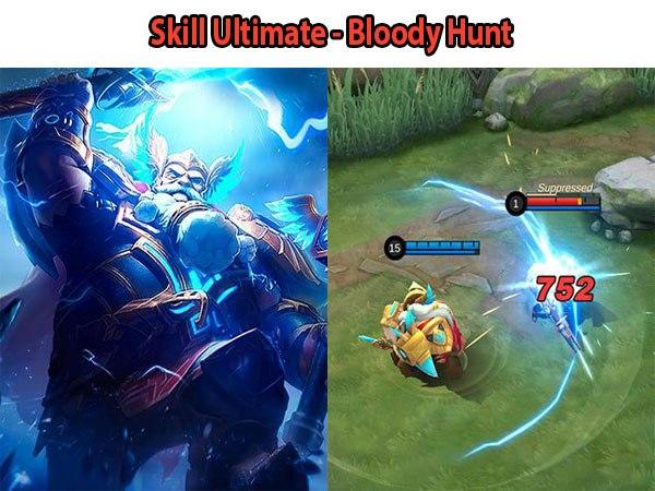 7 Skill Ultimate Hero Mobile Legend Paling Jago, Skill Ultimate - Bloody Hunt