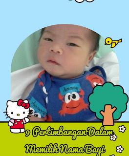 9 pertimbangan dalam memilih nama bayi