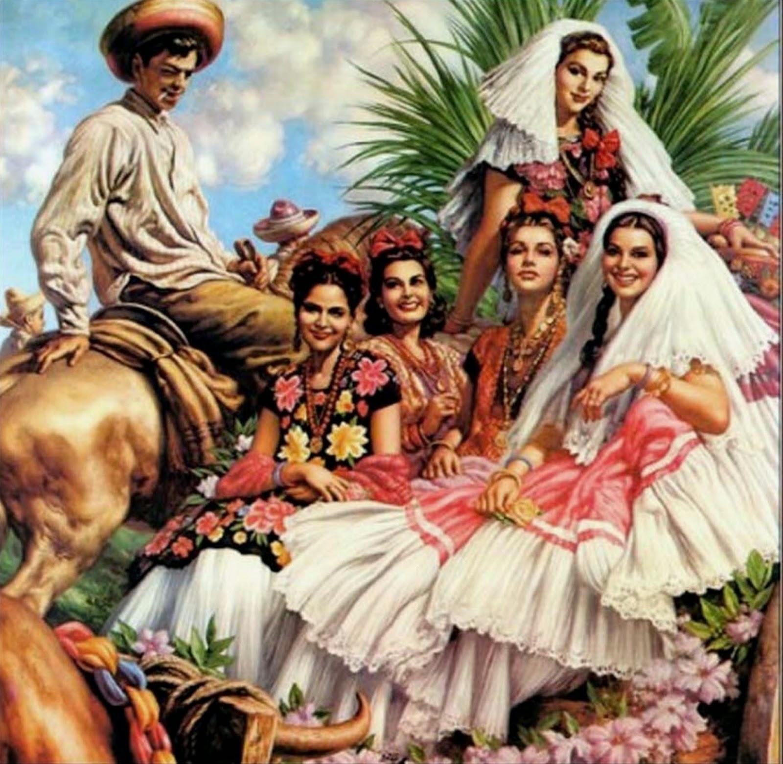 Imágenes Arte Pinturas Pinturas De Indios Aztecas De Jesús Helguera