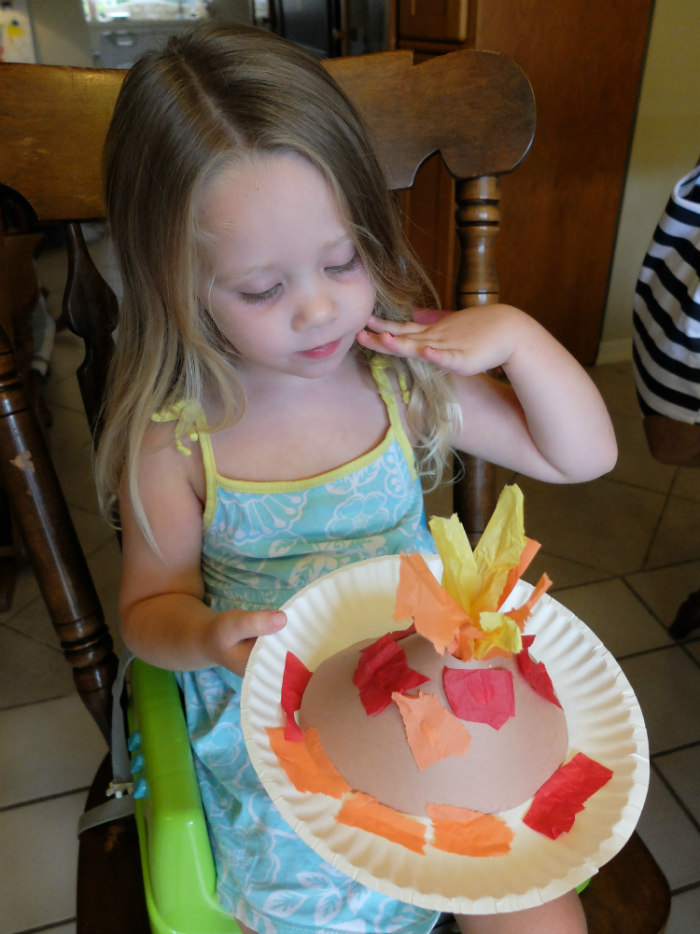 Volcano Activities and Crafts for preschool age children