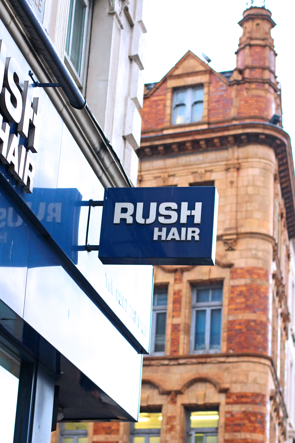 Rush Hair Salon, Kings Cross - London beauty blog